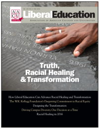 Liberal Education Fall 2016: Truth, Racial Healing and Transformation