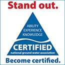 Stand out. Become NGWA certified.