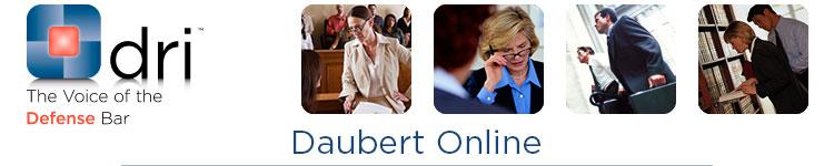 dri: Daubert Online