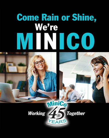 Come Rain or Shine, We're MiniCo