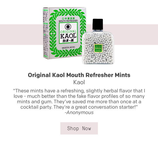 Kaol Mouth Refresher Mints