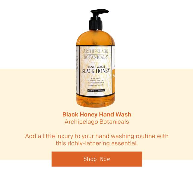 Black Honey Hand Wash by Archipelago Botanicals