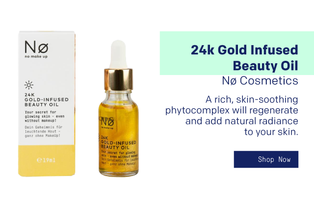 24k Gold Infused Beauty Oil