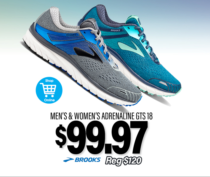 Brooks Adrenaline GTS 18 | On Sale NOW!